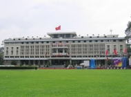 The South Vietnamese Presidential palace (reunification palace)