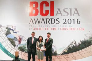 the BCI Asia Top 10 Developers Awards for 2016
