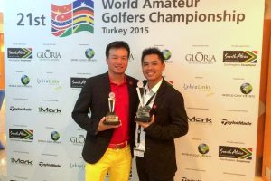 Vietnam rank third at international golf tournament