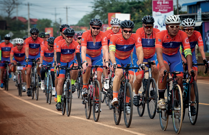 Edrington riders will head to Vietnam to tackle the 611-kilometer journey from Nha Trang to Da Nang