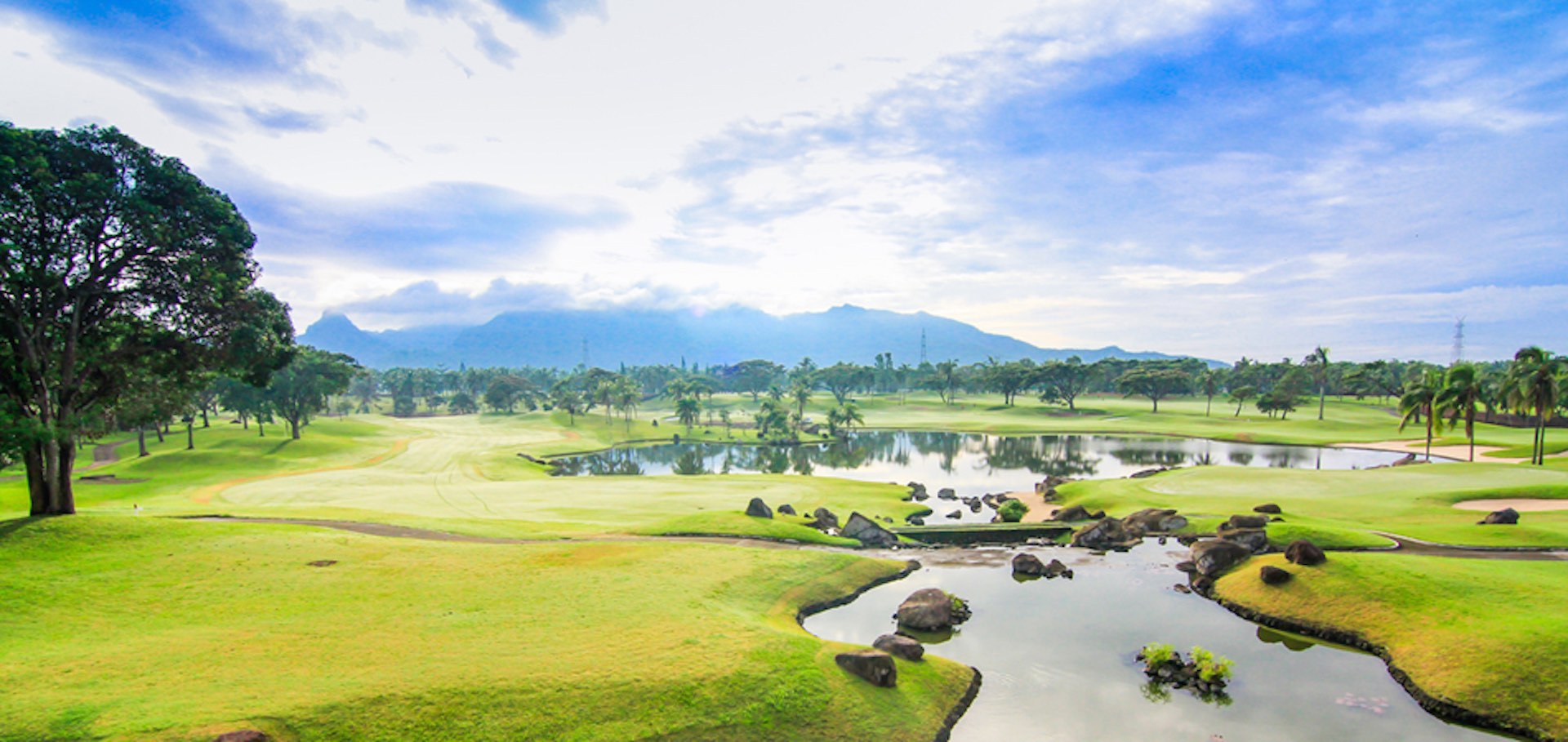 Golfing in the Philippines