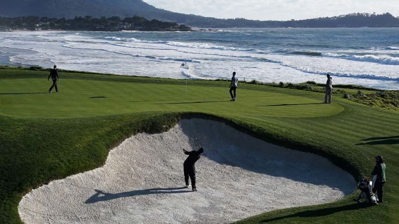 AT&T Pebble Beach Pro-Am: Tee times, TV schedule, stats