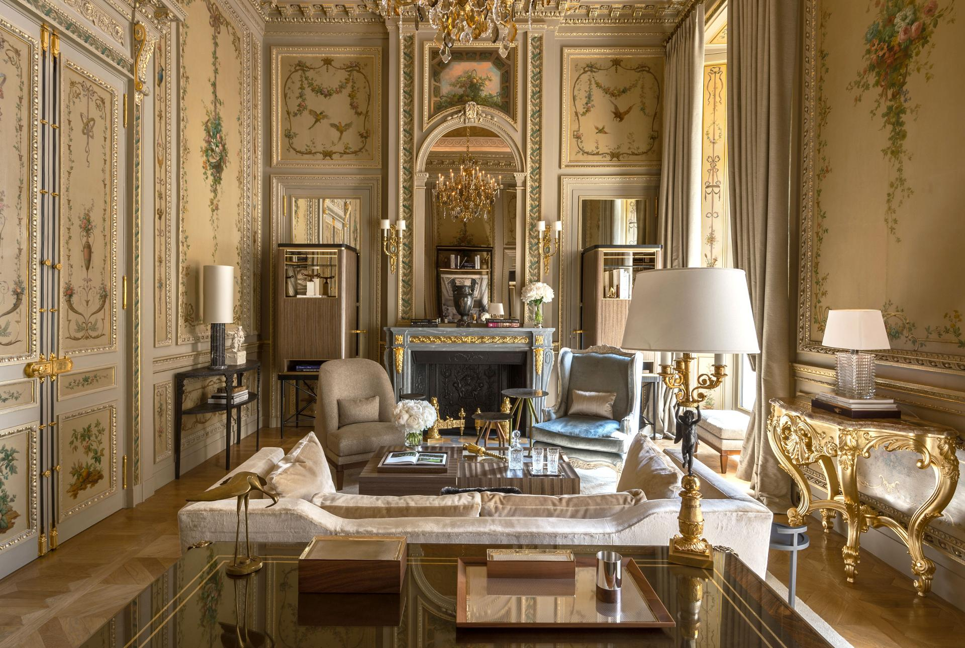 Housed in an 18th-century palace originally commissioned by Louis XV, Paris' newly renovated Hôtel de Crillon, A Rosewood Hotel blends classic grandeur with modern sophistication.