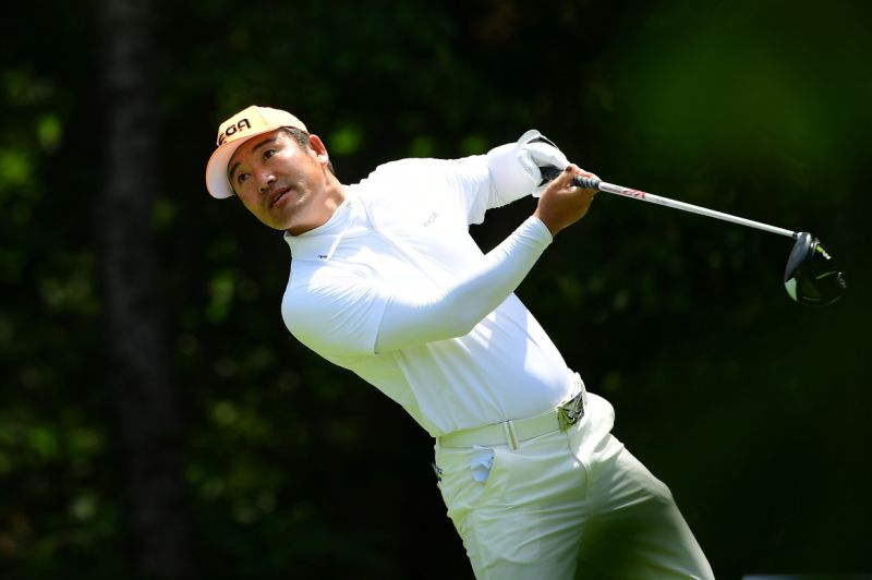 (Photo by Arep Kulal/Asian Tour/Asian Tour via Getty Images)