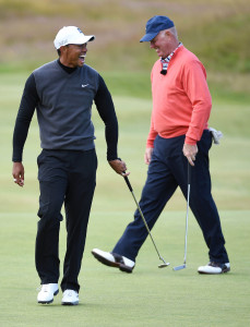 The 144th Open Championship-Practice Round